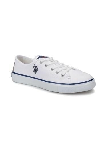 U.S. Polo Assn. Ayakkabı Beyaz